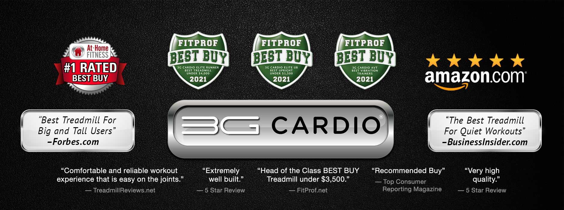 3G Cardio Fitness Equipment Reviews