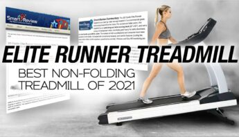 Smartreview.com gives 3G Cardio Elite Runner Treadmill Best Treadmill of 2021 Award