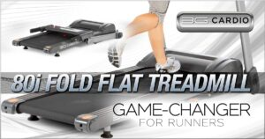 Top-selling 3G Cardio 80i Fold Flat Treadmill is a game-changer for runners