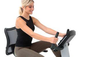 Advanced Ergonomic Seat Technology - Elite RB Recumbent Bike