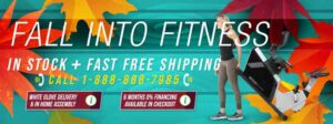 Fall into Fitness with 3G Cardio Autumn fitness equipment savings