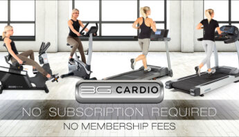 No Subscription Required with Award-Winning 3G Cardio Treadmills and Exercise Bikes